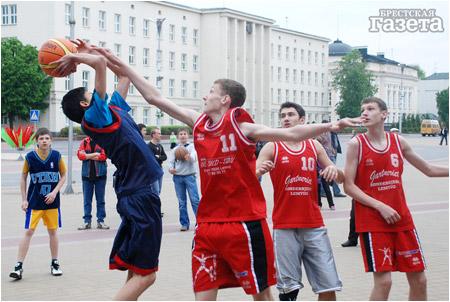 Баскетбол на Ленина