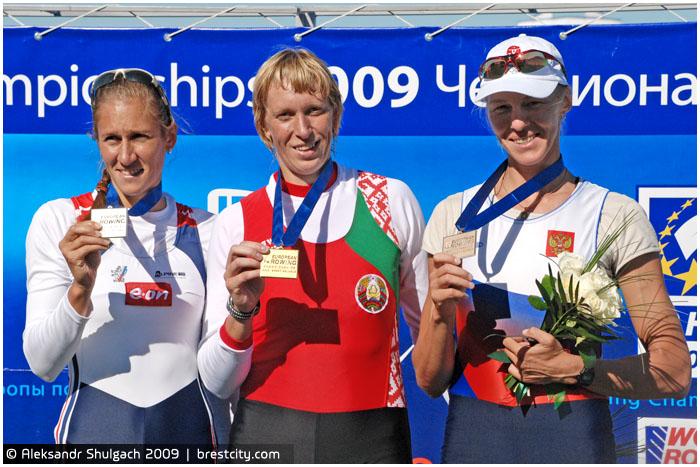 Екатерина Карстен взяла золото на чемпионате Европы