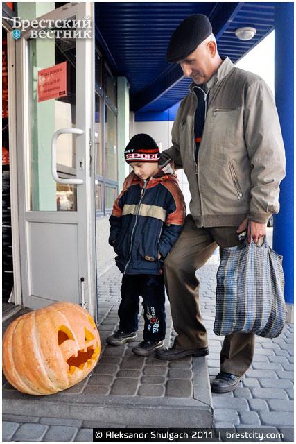 Halloween прошел в Бресте