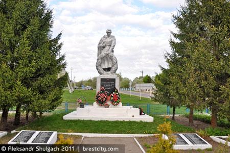 Ставы. Памятник солдату
