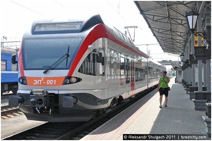 Швейцарский электропоезд Stadler