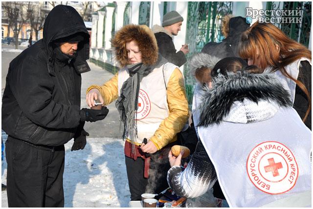 Благотворительная акция для бездомных «Суровая зима»