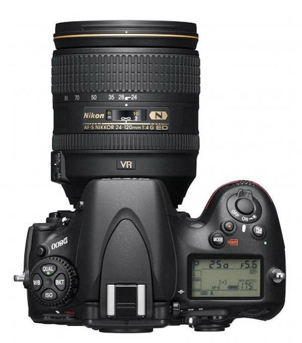 Nikon представила 36-мегапиксельную зеркальную камеру D800