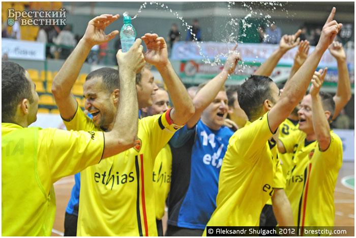 Бельгия - победитель Чемпионата Европы по футзалу