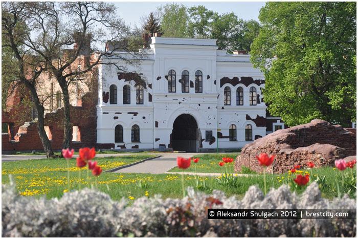 Холмские ворота. Вид изнутри Цитадели