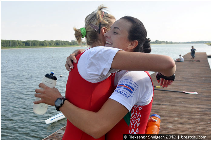 Татьяна Кухта и Екатерина Шлюпская
