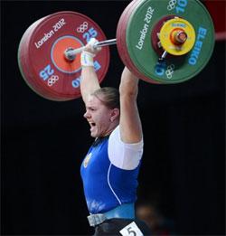 Ирина Кулеша на олимпиаде в Лондоне