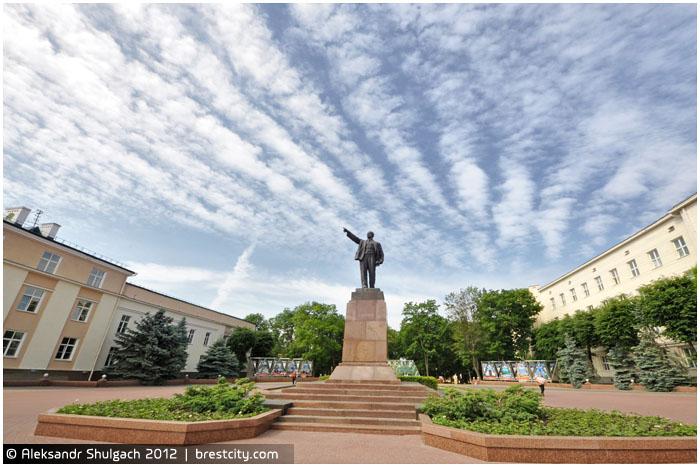 Брест. Площадь Ленина