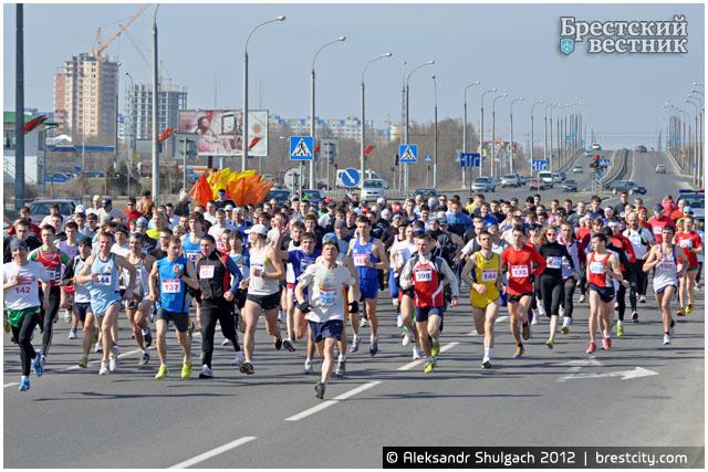 Традиционный легкоатлетический пробег «Память» прошел в Бресте