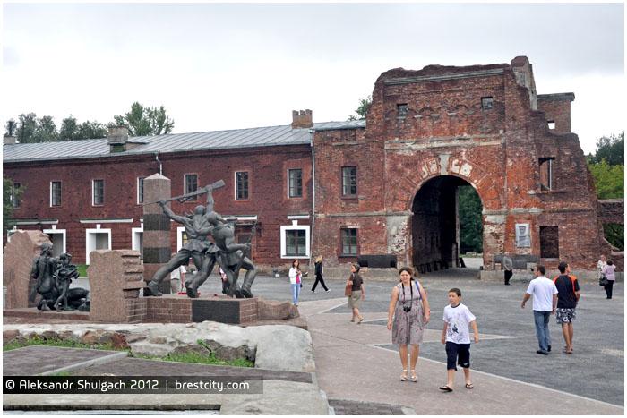 Тереспольские ворота Брестской крепости