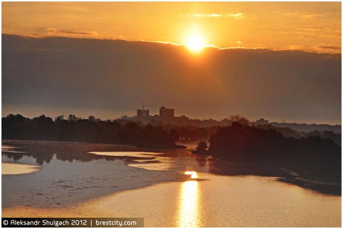 Осеннее утро в Бресте