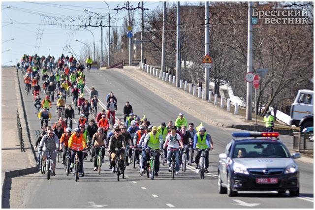 В Бресте открыли велосезон