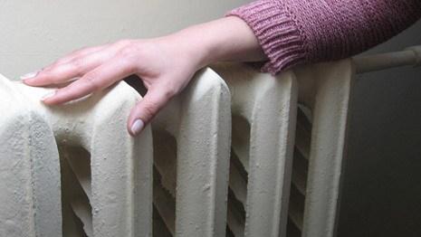 Тепло. Батарея в жилом доме. Отопление