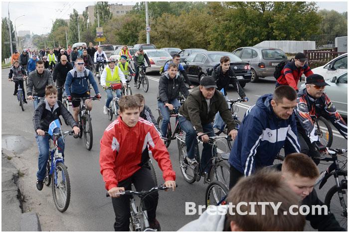Велопробег  в Бресте 22 сентября 2013