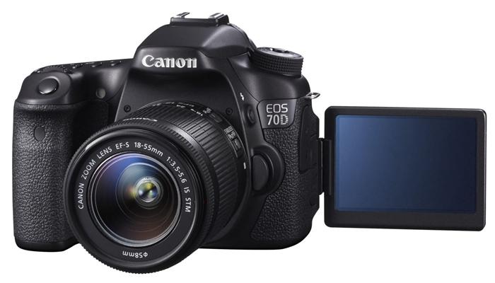 Заркальный фотоаппарат Canon 70D