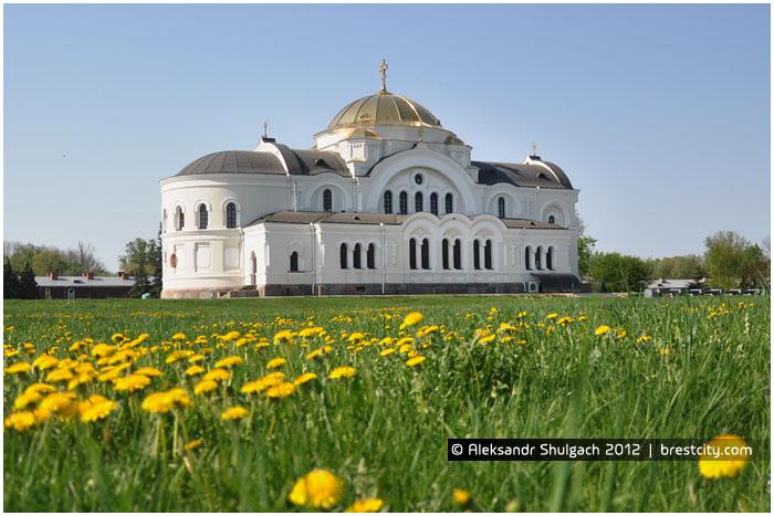 Гарнизонный собор в Брестской крепости. Весна 2012