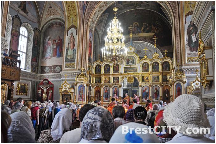 Свято-Николаевская Братская церковь в Бресте на улице Мицкевича