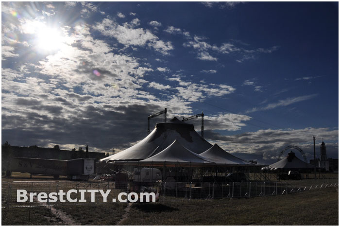 Цирк в Бресте на проспекте Рспублики