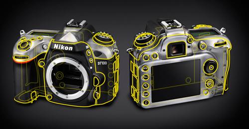 Nikon D7100 новая фотокамера
