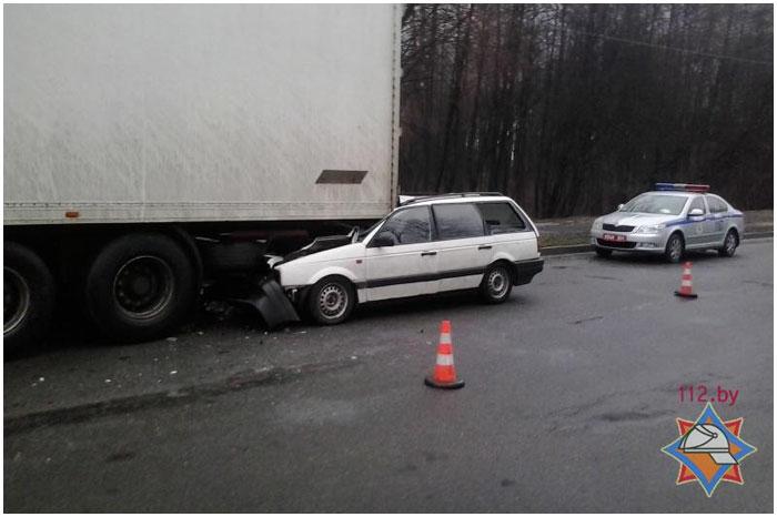 Авария в Бресте. Катин Бор. 16.12.2013