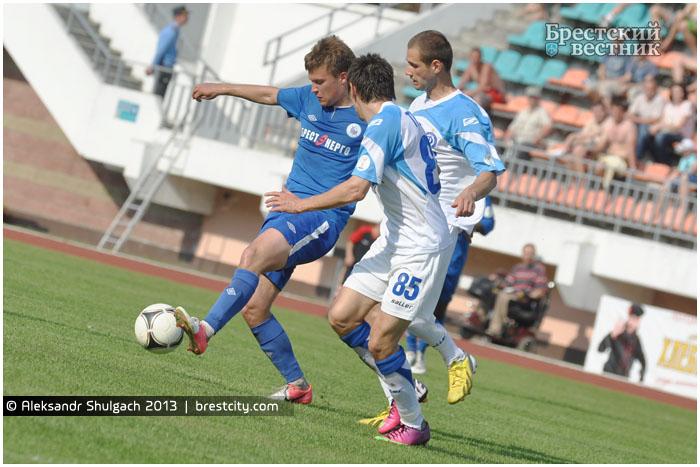 Динамо Брест - Динамо Минск 12 мая 2013