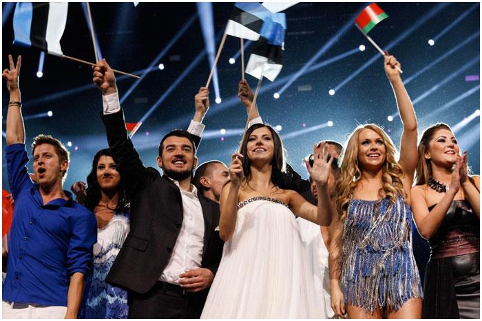 Участники финала Евровидения 2013 на сцене