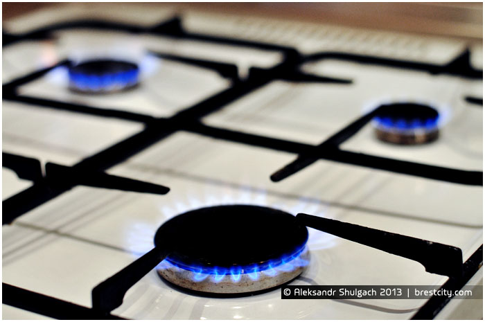 Газовая плита. Стоимость газа с 1 февраля