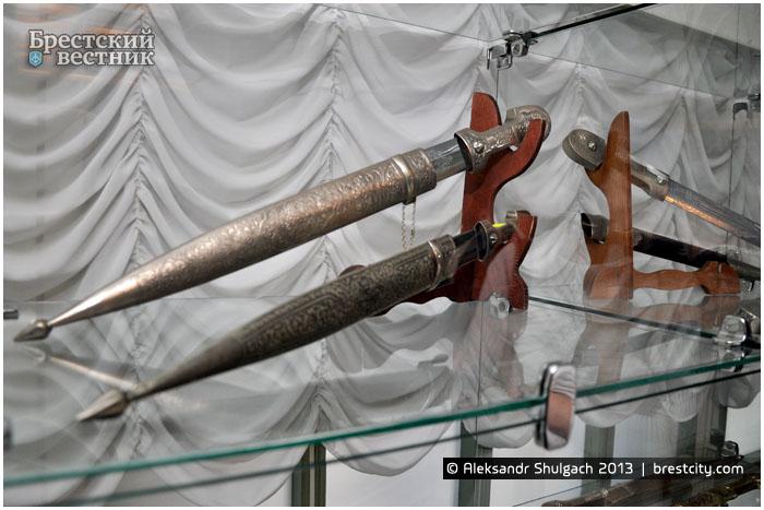 Выставка холодного оружия в Бресте