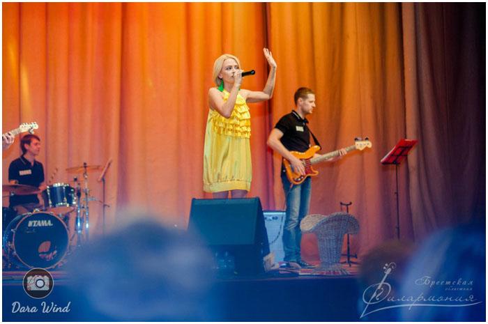 Концерт Ларисы Грибалевой в Бресте