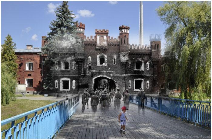 Холмские ворота Брестской крепости (1941-2013)