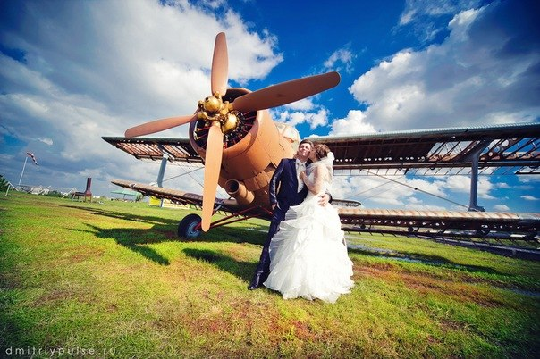 Типичные свадебные фотографии