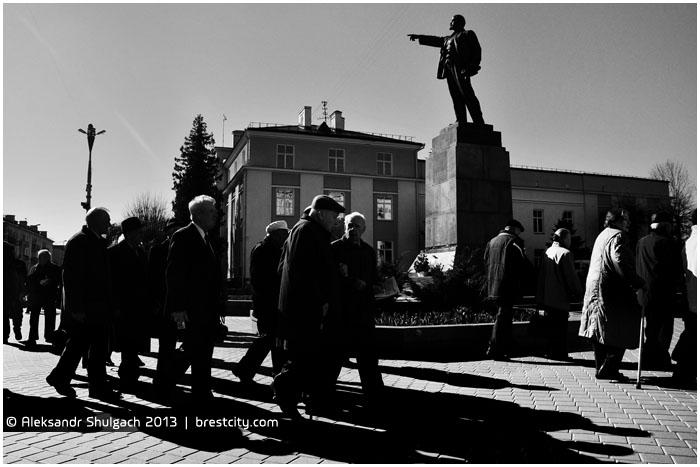 День рождения Ленина. Брест 22 апреля
