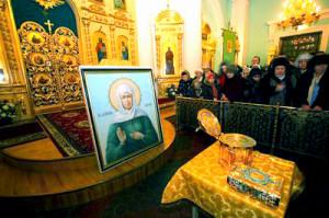 Икона святой Матроны на Брестчине