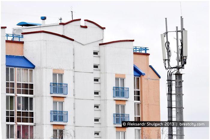Вышка сотовой (мобильной) связи в Бресте