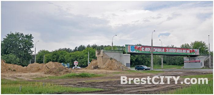 Демонтаж железной дороги на востоке Бреста