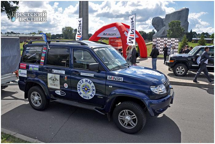 Мотопробег в честь 10-летия ОДКБ стартовал в Бресте
