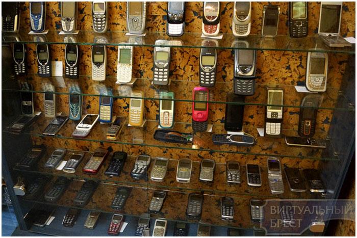 Музей сотовых телефонов в Бресте