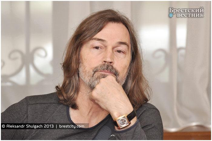Никас Сафронов в Бресте. Пресс-конференция для СМИ