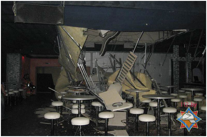 В ночном клубе Бреста
