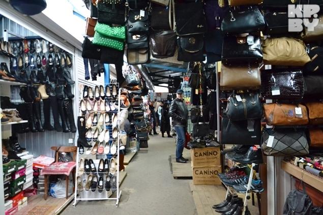 Рынок в Бресте за ЦУМом