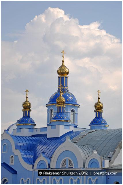 Храм в честь Тихвинской иконы Божьей Матери в Бресте