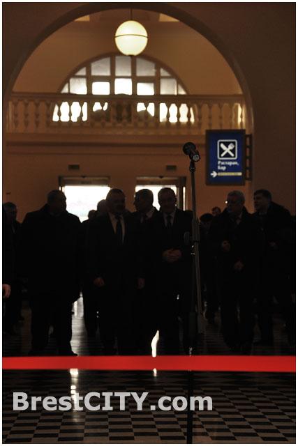 Торжественное открытие Брестского жд вокзала