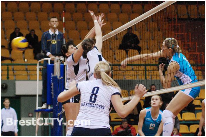 Женский волейбол в Бресте. Спорткомплекс
