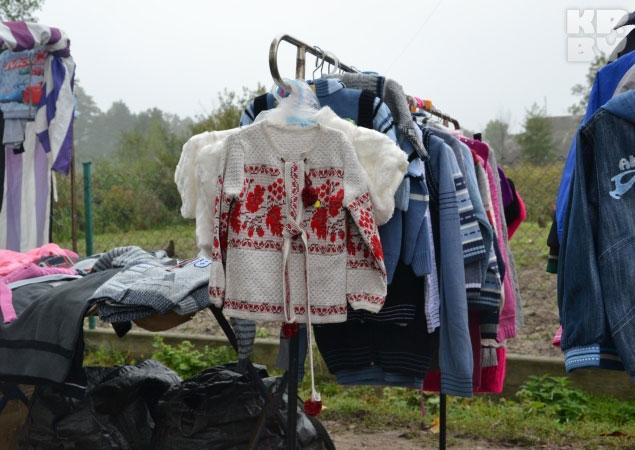 Рынок в Заболотье. Украина