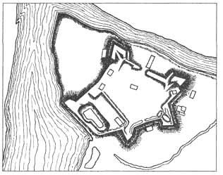 Старый замок на территории Брестской крепости