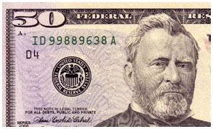 50 баксов долларов США