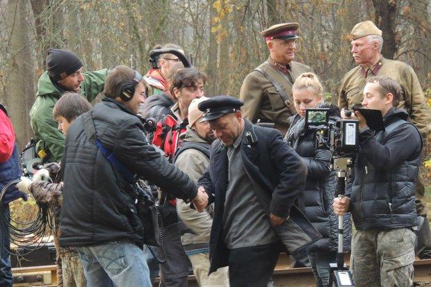 Съемки фильма: Снайпер-2. Тунгус