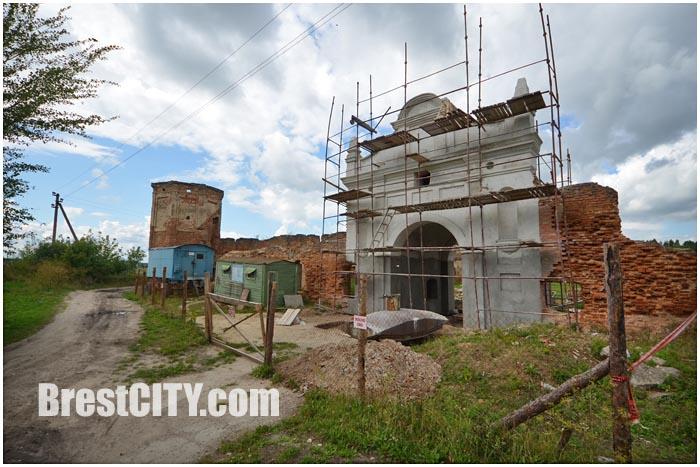 Монастырь картезианцев в Березе. Руины