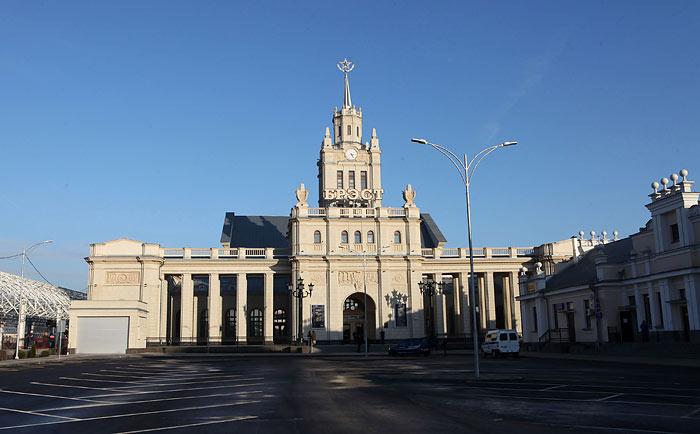 Брест. Железнодорожный вокзал