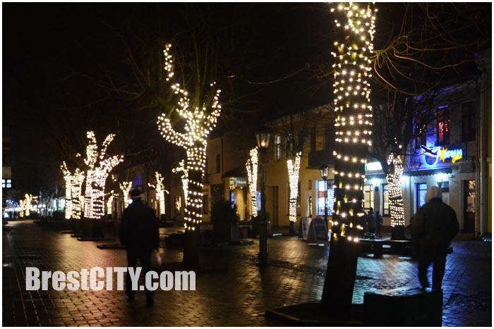 Новогодняя улица Советская